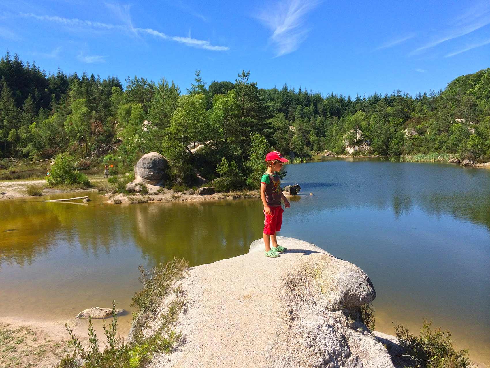 Natuurbeleving, la Bosse, zwemvijver