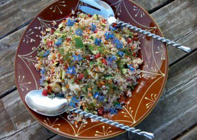 een heerlijke exotische salade