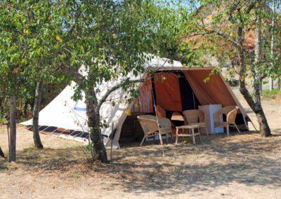 Camping, De Waard tent, Allier Auvergne