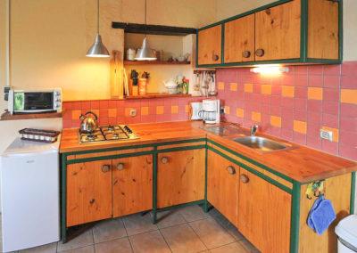 Keuken vakantiehuis La Source op Brénazet
