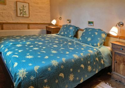 Slaapkamer vakantiehuis Four à pain, Brénazet, Allier Frankrijk