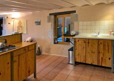 Keuken vakantiehuis Four à pain, Brénazet, Allier Frankrijk