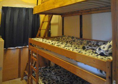 Slaapkamer vakantiehuis La Source, Brénazet, Allier, Frankrijk