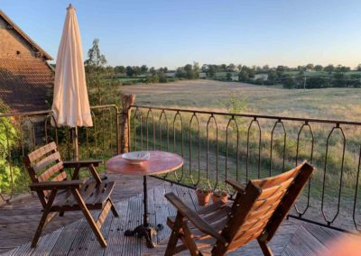 vakantiehuis bellevue- balkon